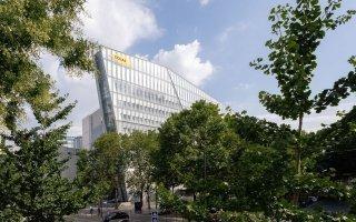 Prism', le nouveau siège de Colas, un modèle architectural et environnemental - Batiweb