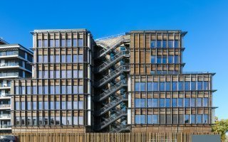 """Un immeuble tertiaire offre une nouvelle """"Perspective"""" à la construction bois - Batiweb"""
