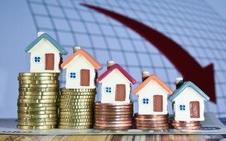 Le marché du logement en chute libre au troisième trimestre