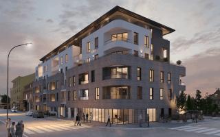 En Alsace, un projet immobilier mixte se dote d'une façade dépolluante Batiweb