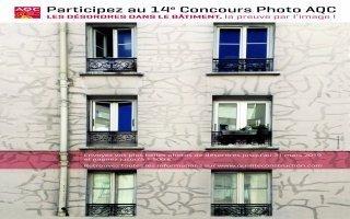 « Désordres dans le bâtiment », thème de la 14e édition du concours photo AQC - Batiweb