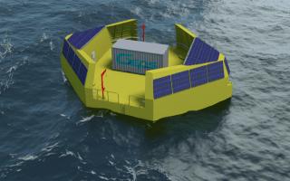 Énergie marine renouvelable : au large du Croisic, Wavegem rejoint Floatgen