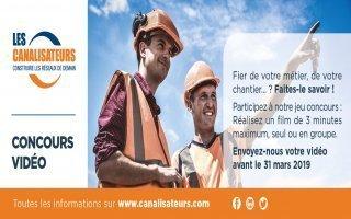 Le syndicat des Canalisateurs lance un concours pour promouvoir ses métiers - Batiweb
