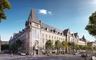 Nouvelle vie pour l'Hôtel des Postes de Strasbourg Batiweb