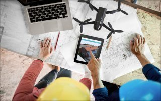 Terreal et Web2vi partenaires pour promouvoir l'usage des drones sur les chantiers - Batiweb