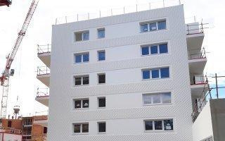 « Horizon bianco » : pointes de diamant pour 86 logements