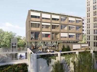 « Le Relais d'Italie », un ambitieux projet de restructuration pour Réinventer Paris Batiweb