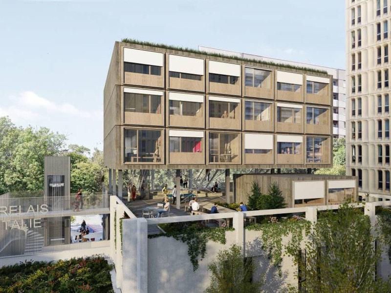 « Le Relais d'Italie », un ambitieux projet de restructuration pour Réinventer Paris - Batiweb