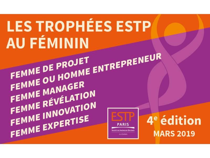 Trophées ESTP Au Féminin : les lauréat.e.s dévoilés - Batiweb