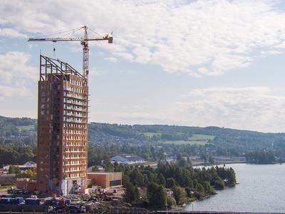 La Mjøstårnet, plus haute tour en bois du monde, enfin inaugurée Batiweb