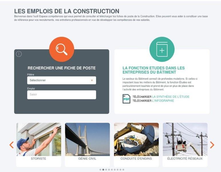 Formations et fiches de poste : Constructys met en ligne deux nouveaux outils - Batiweb