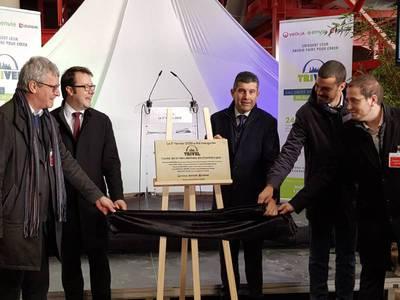 Déchets de chantier : Veolia, Envie et Legendre ont inauguré la 1ère unité de tri de Bretagne Batiweb
