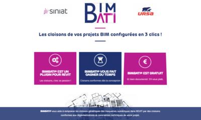 Bimbati : l'alliance d'Ursa et Siniat pour des cloisons isolées en BIM Batiweb