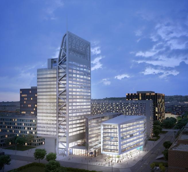 Lyon Part-Dieu : le quartier d'affaire continue sa mue avec Silex²