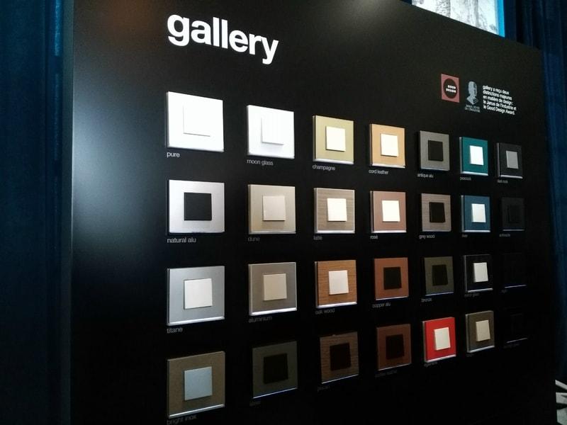 Hager mise sur le design avec sa nouvelle gamme gallery