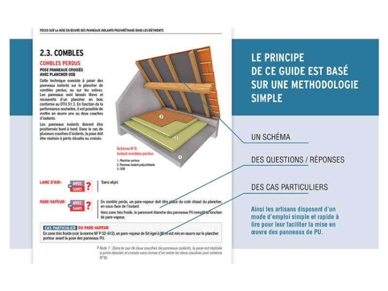 Le SNPU lance un guide sur la mise en œuvre des panneaux isolants polyuréthane - Batiweb