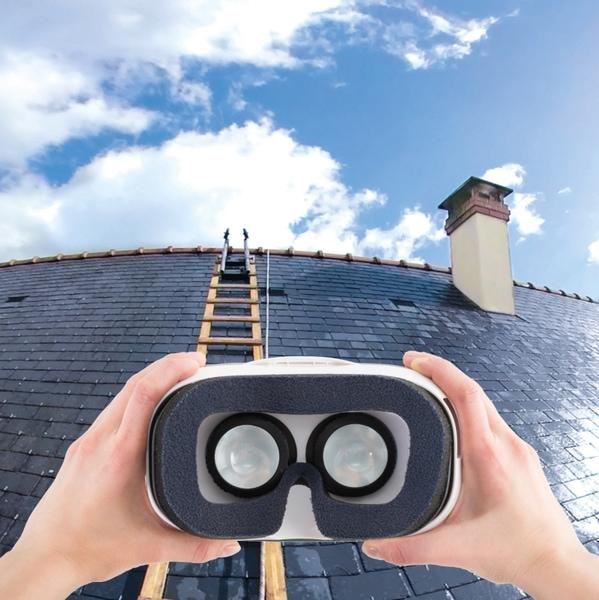 Foire de Paris : dans la peau d'un technicien Technitoit grâce à la réalité virtuelle