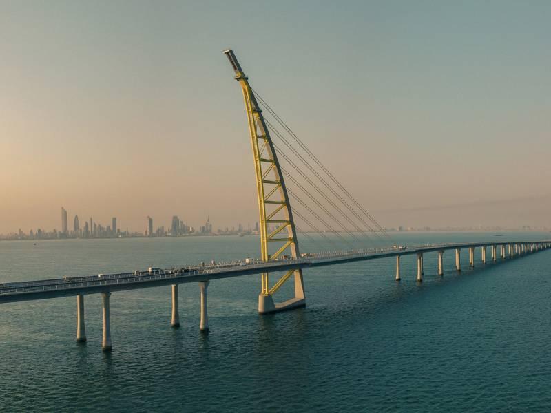 Au Koweït, Systra livre un pont maritime de 36,1 km