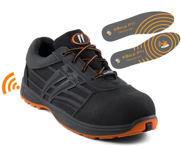 Sécurité au travail : les chaussures donnent l'alerte en cas de chute - Batiweb