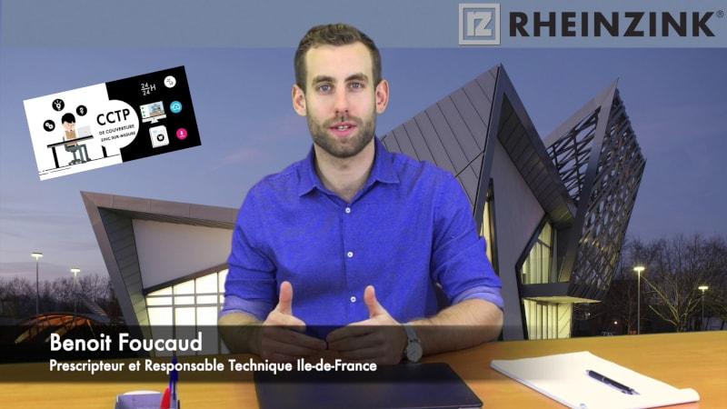 Rheinzink ou l'art des tutos vidéo pour réaliser un CCTP sur-mesure