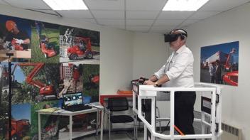 simulateur de nacelle