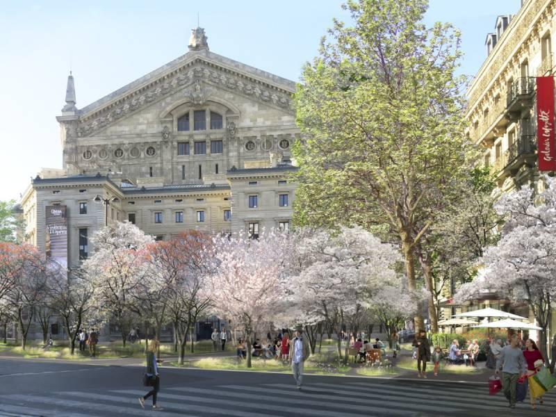 Anne Hidalgo veut continuer la végétalisation de Paris et fait hurler les élus