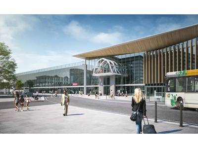 La gare de Chambéry transformée dans les temps grâce au BIM et au « smart building » Batiweb