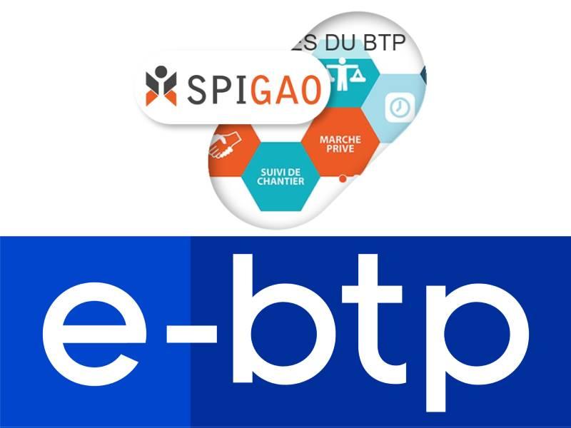 e-btp et Spigao s'associent pour faciliter la gestion des appels d'offre