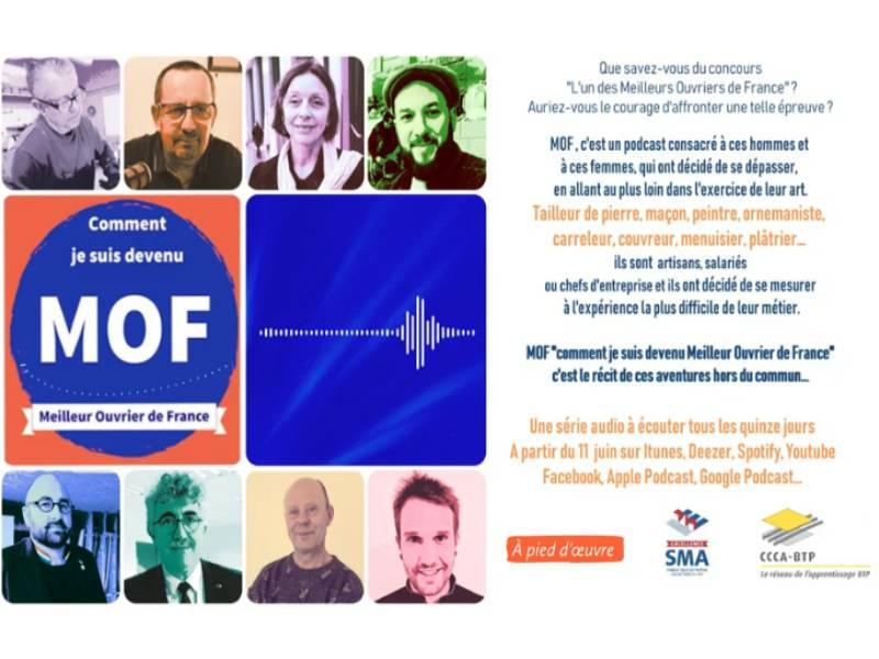A Pied D'œuvre vous fait découvrir le portrait de 8 Meilleurs ouvriers de France