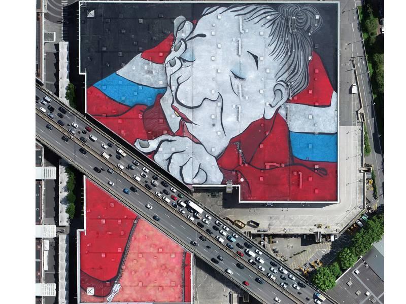 Une fresque géante pour un nouveau départ à Paris Expo Porte de Versailles