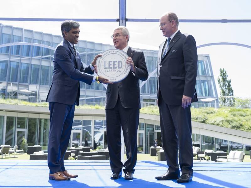 Pour ses 125 ans, le Comité international olympique (CIO) s'offre un bâtiment durable