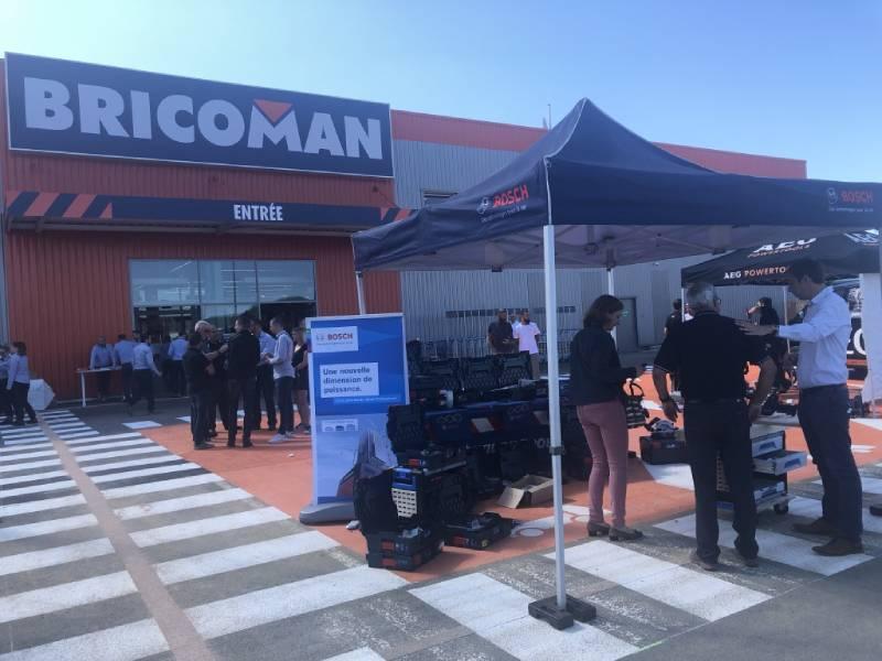 Inauguration à Metz : Bricoman continue son virage vers le négoce