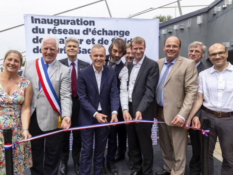 Paris-Saclay a inauguré son réseau de chaleur de dernière génération