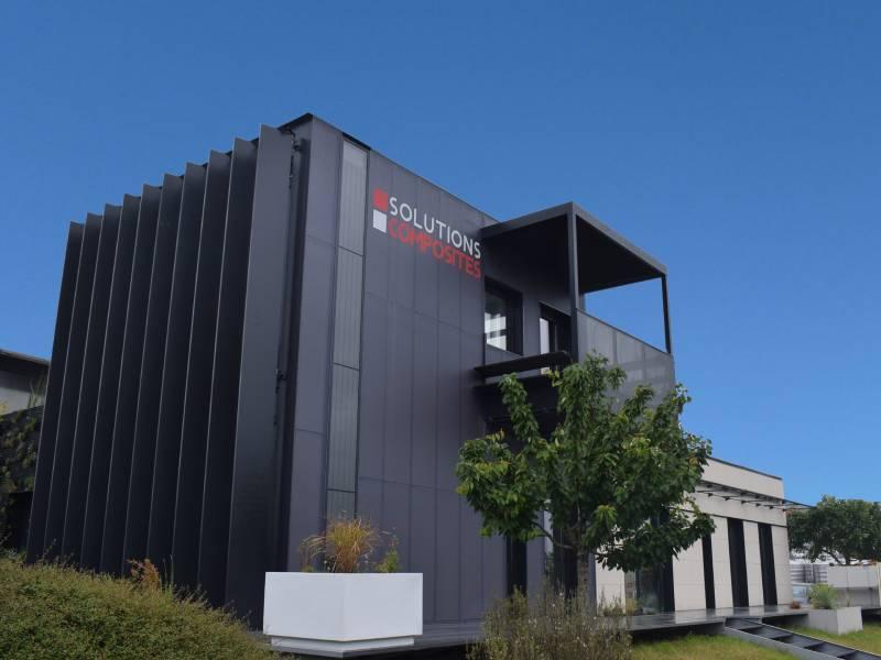 CompoHouse, un bâtiment démonstrateur à énergie positive réalisé en matériaux composites