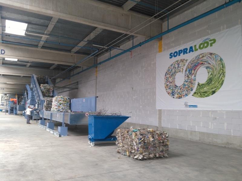 Soprema inaugure sa première usine de recyclage d'emballages plastiques PET Batiweb