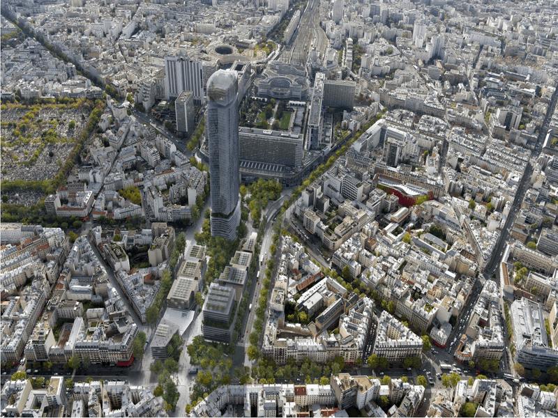 Réaménagement du quartier Maine-Montparnasse : le projet lauréat dévoilé - Batiweb