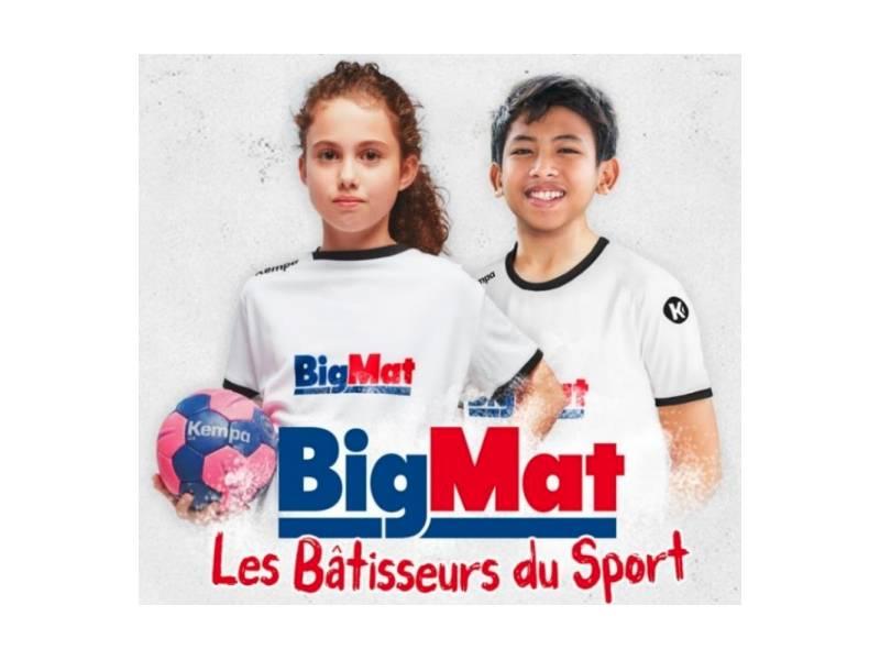 « Les Bâtisseurs du Sport », nouvelle initiative 100% sportive pour BigMat