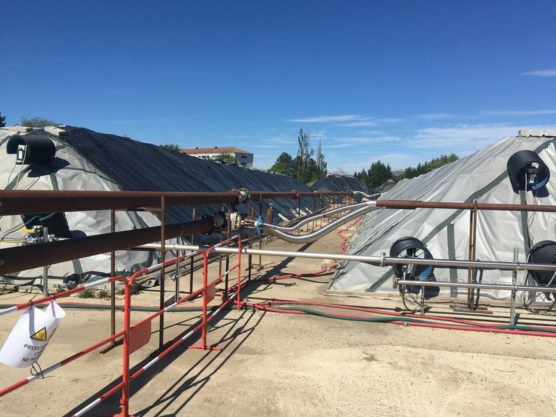 Dépollution des terres : un chantier exemplaire de désorption thermique à Saint-Etienne