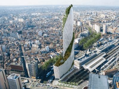 Projet controversé de la Tour Occitanie : le permis de construire signé par la mairie de Toulouse Batiweb