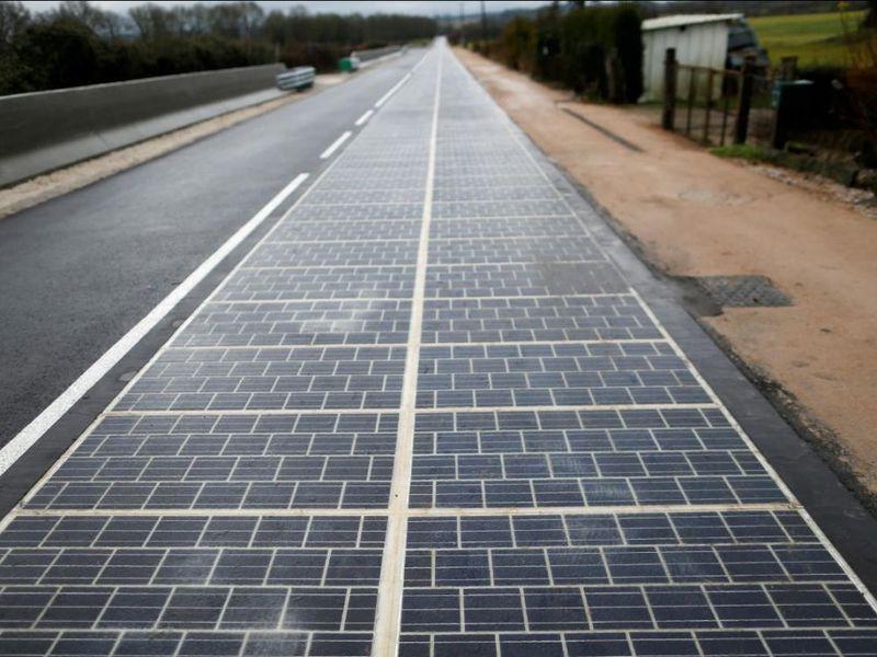 Route solaire dans l'Orne : le bilan déçoit, mais Colas réitère l'expérience - Batiweb