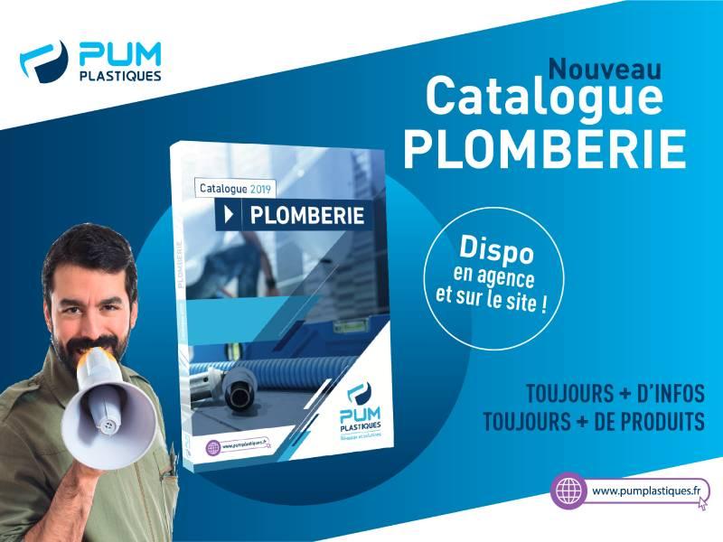 PUM Plastiques présente son nouveau catalogue « Plomberie »