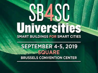 Les universités d'été Smart Buildings for Smart Cities se tiendront à Bruxelles Batiweb