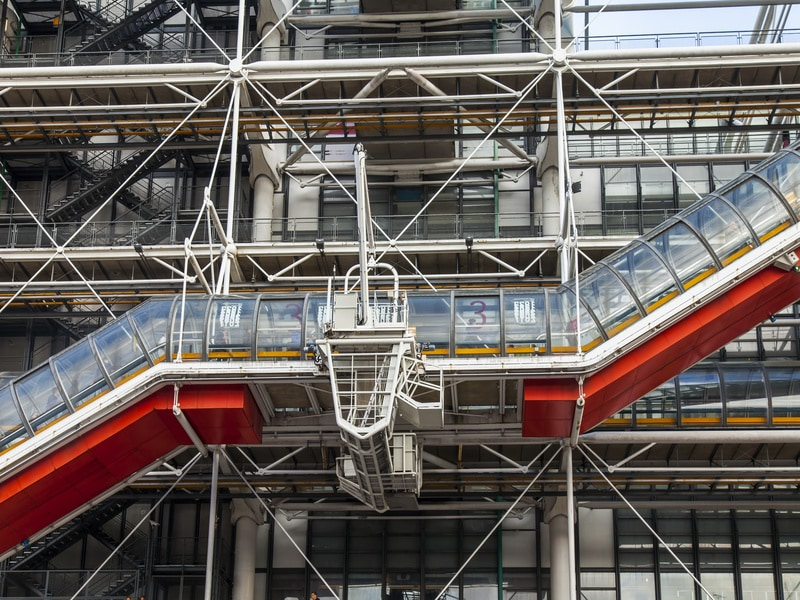 Le chantier de rénovation du centre Georges Pompidou va enfin commencer