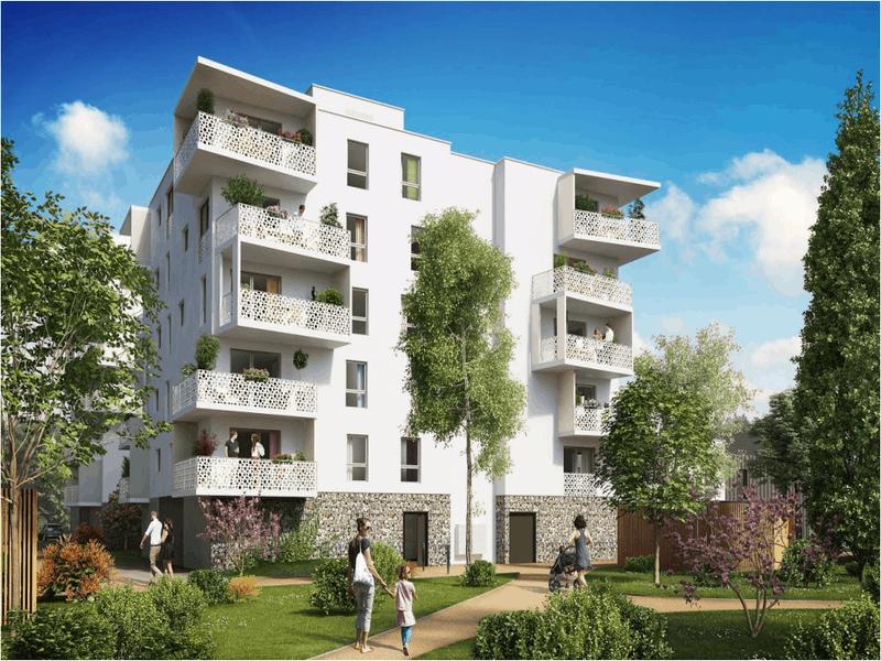 Près de Strasbourg, un programme immobilier combine maisons et immeubles - Batiweb