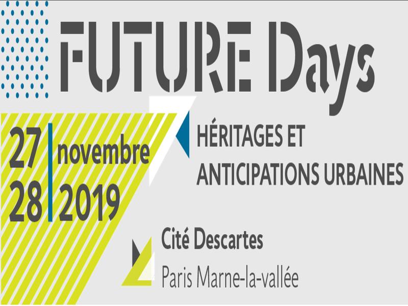 Héritage et Anticipation urbaine, thème des Future Days