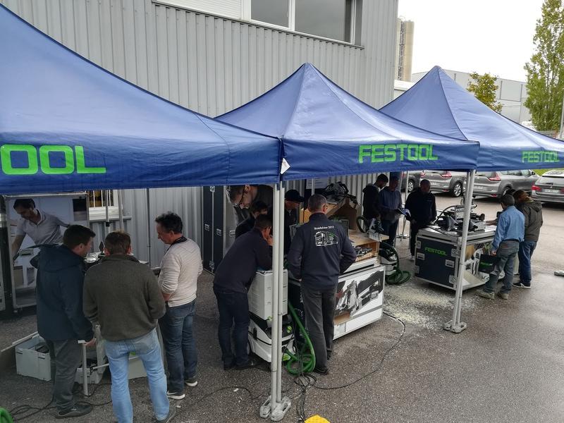 Le Festool Tour repart sillonner la France