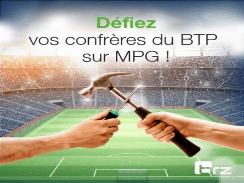 BRZ lance un concours de fantasy foot dédié aux professionnels du bâtiment