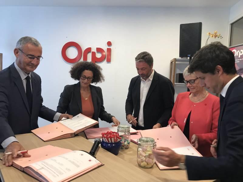 Orpi et l'Etat signent un deuxième « Green Deal » - Batiweb