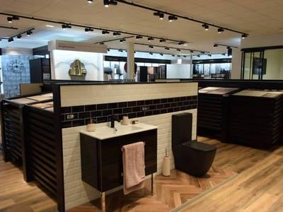 Point.P, Envie de salle de bain et DISPANO font showroom commun Batiweb
