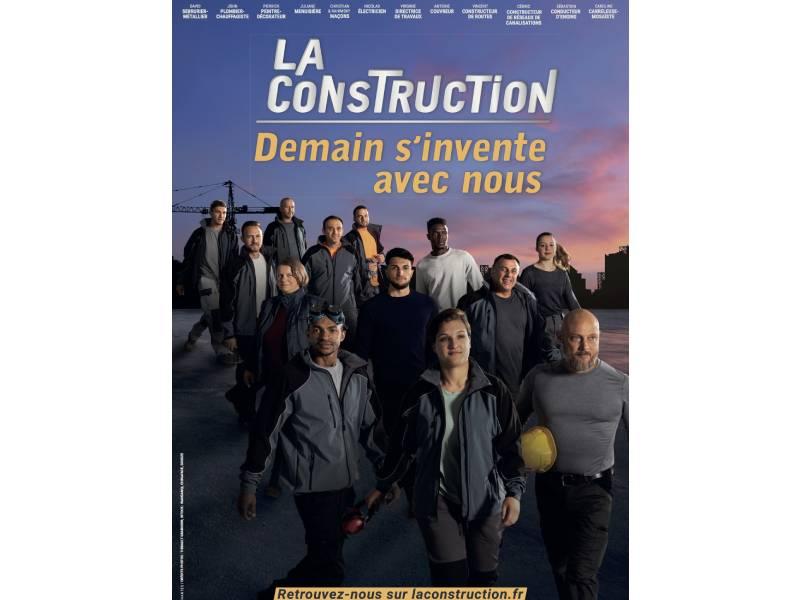 « Demain s'invente avec nous » : le monde de la construction part en campagne !